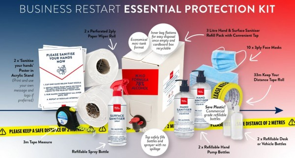 PureGusto Business Restart Essential Protection Kit
