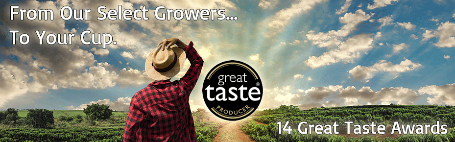 Great Taste Award Coffee, Coffee Beans, Wholesale Coffee Beans, Coffee Shop Supplies