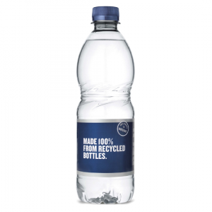 BELU Still Water - 100% Recycled Bottles - 24 X 500ml