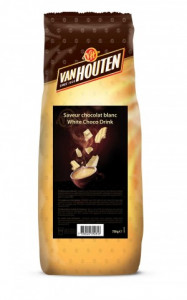 Van Houten White Hot Chocolate Drink 750g