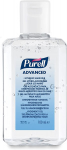 PURELL Advanced Hygienic Hand Rub - 5 x 100ml Bottle