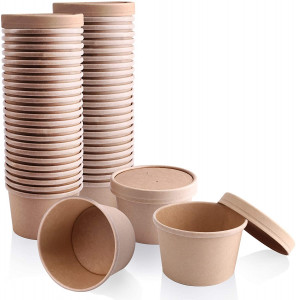 Round Soup Pots & Lids - Hot & Cold Food Pots