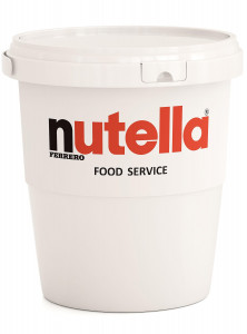 Nutella Chocolate Hazelnut Spread Catering Bucket
