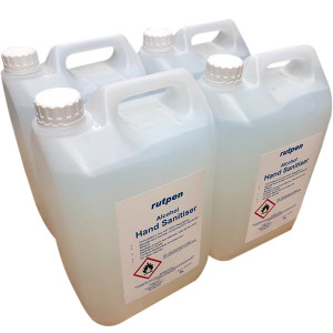 Bulk Alcohol Hand Sanitiser Gel Rub 5 Litre