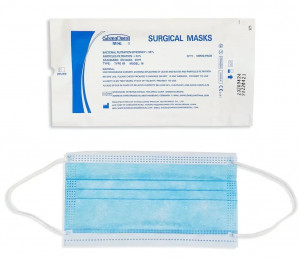 Invasive Surgical Masks - Type IIR - Medical Grade - STERILE x 10