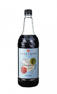 Sweetbird Sugar Free Strawberry Syrup - 1 Litre