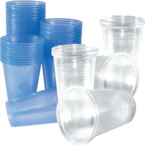 7oz Plastic Water Cups x 1000